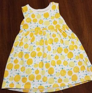 Old Navy sleeveless lemon dress